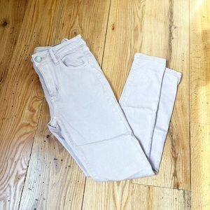AMERICAN EAGLE Mauve Colored Hi-Rise Jeans